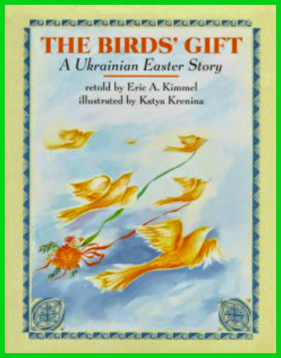 Crafty moms share easter around the world ukraine russia to go with our study of easter in ukraine we read the birds gift a ukrainian easter story retold by eric a kimmel this is a wonderful story of a girl negle Choice Image