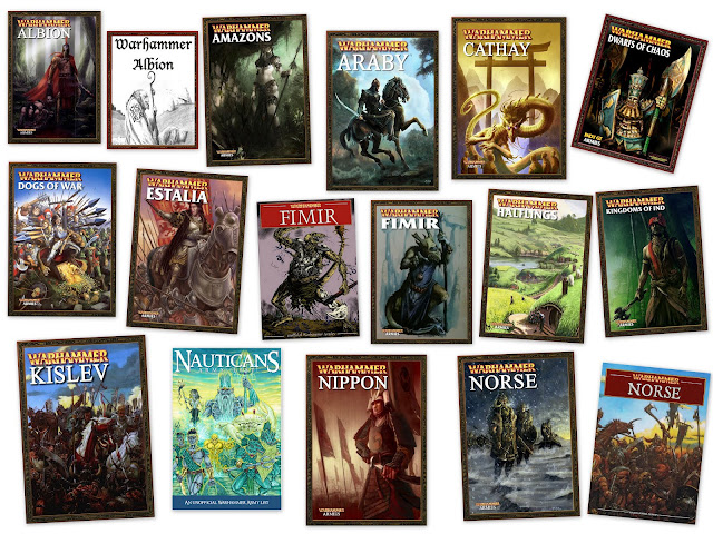 free Warhammer Fantasy Battle army pdf books