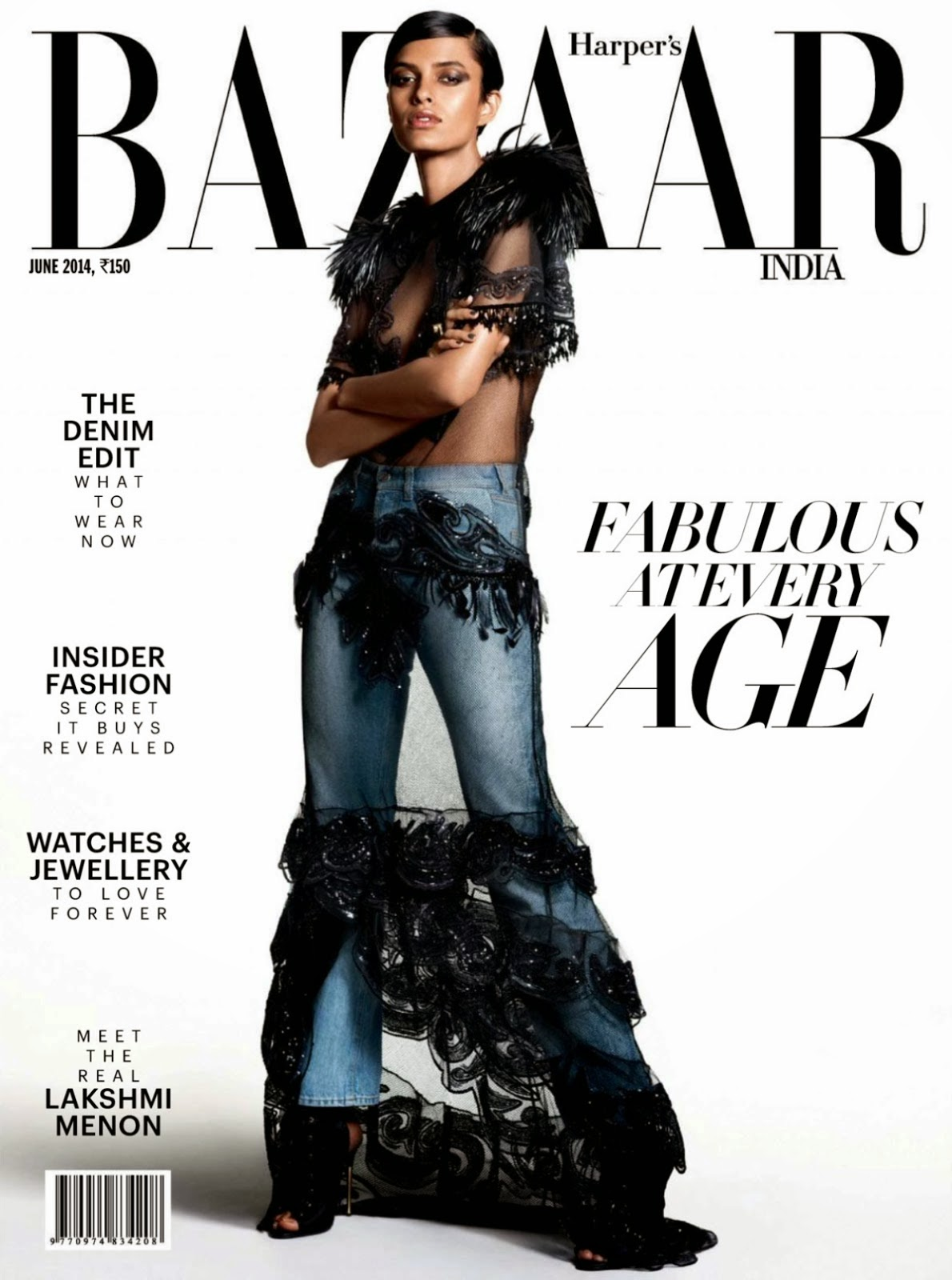 Lakshmi Menon By Tarun Vishwa For Harper's Bazaar Magazine, India, June 2014