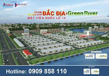 Hình Ảnh Dự Án The Green River City - Thành Phố Ven Sông