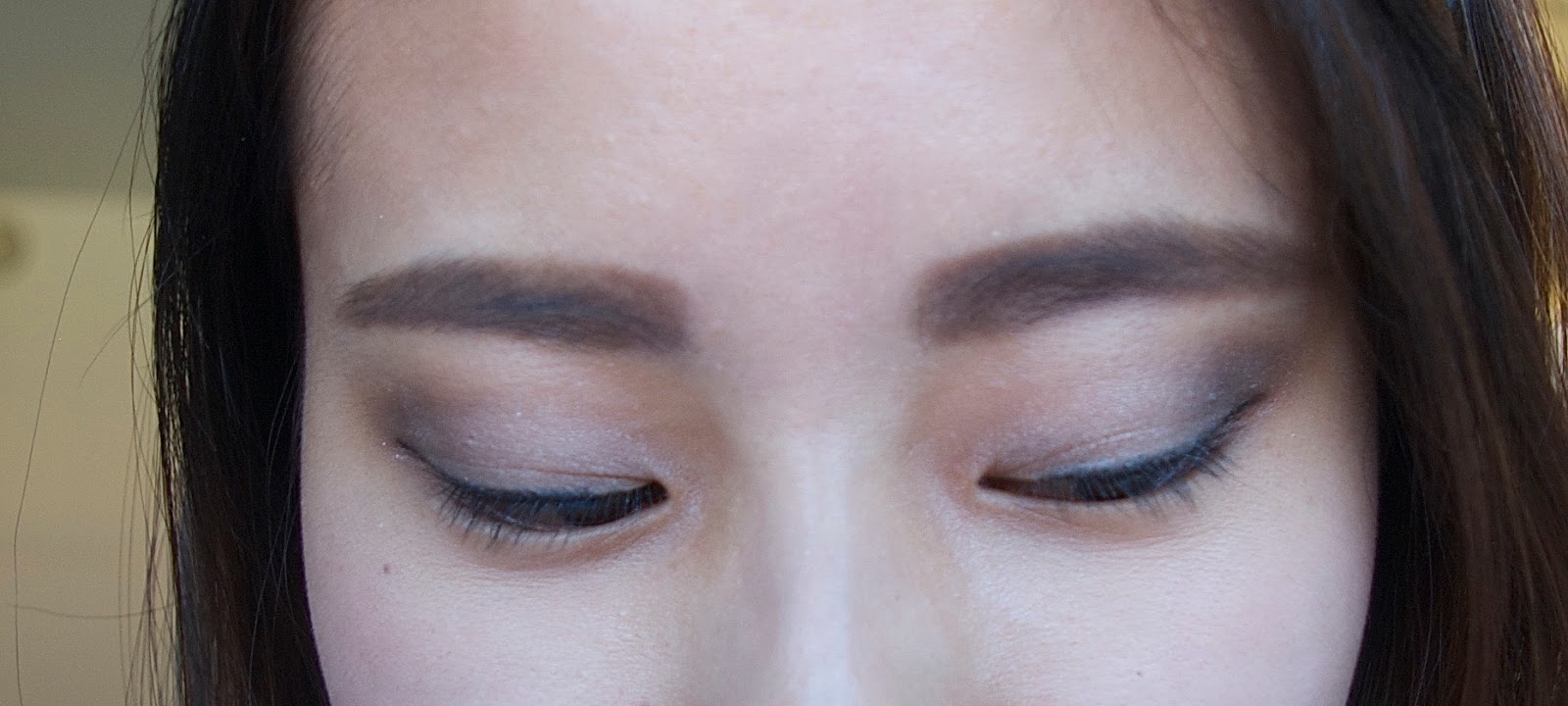 Smashbox Mini Full Exposure Eyeshadow Palette Makeup Look