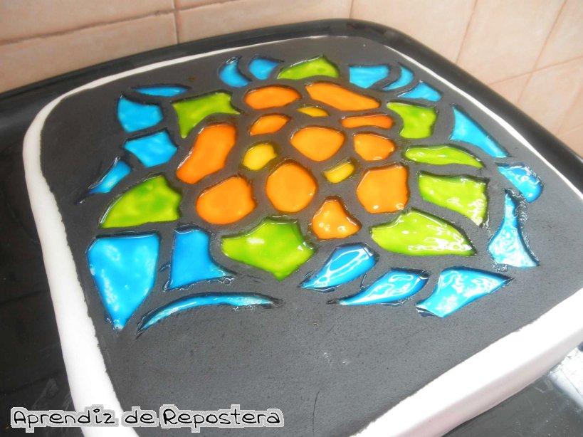Aprendiz de repostera tarta vidriera - Como hacer una vidriera ...