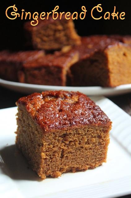 ... Super Moist Gingerbread Cake Recipe - Gingerbread Snacking Cake Recipe