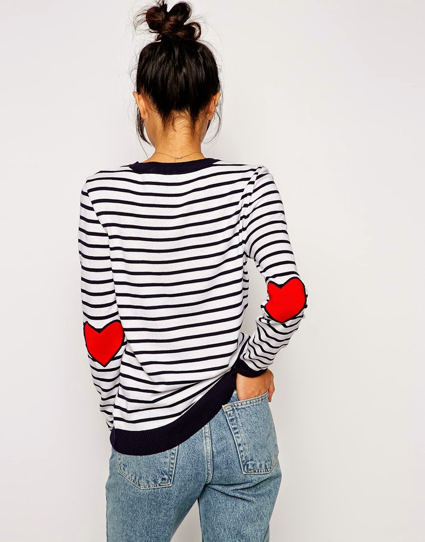 heart elbow top