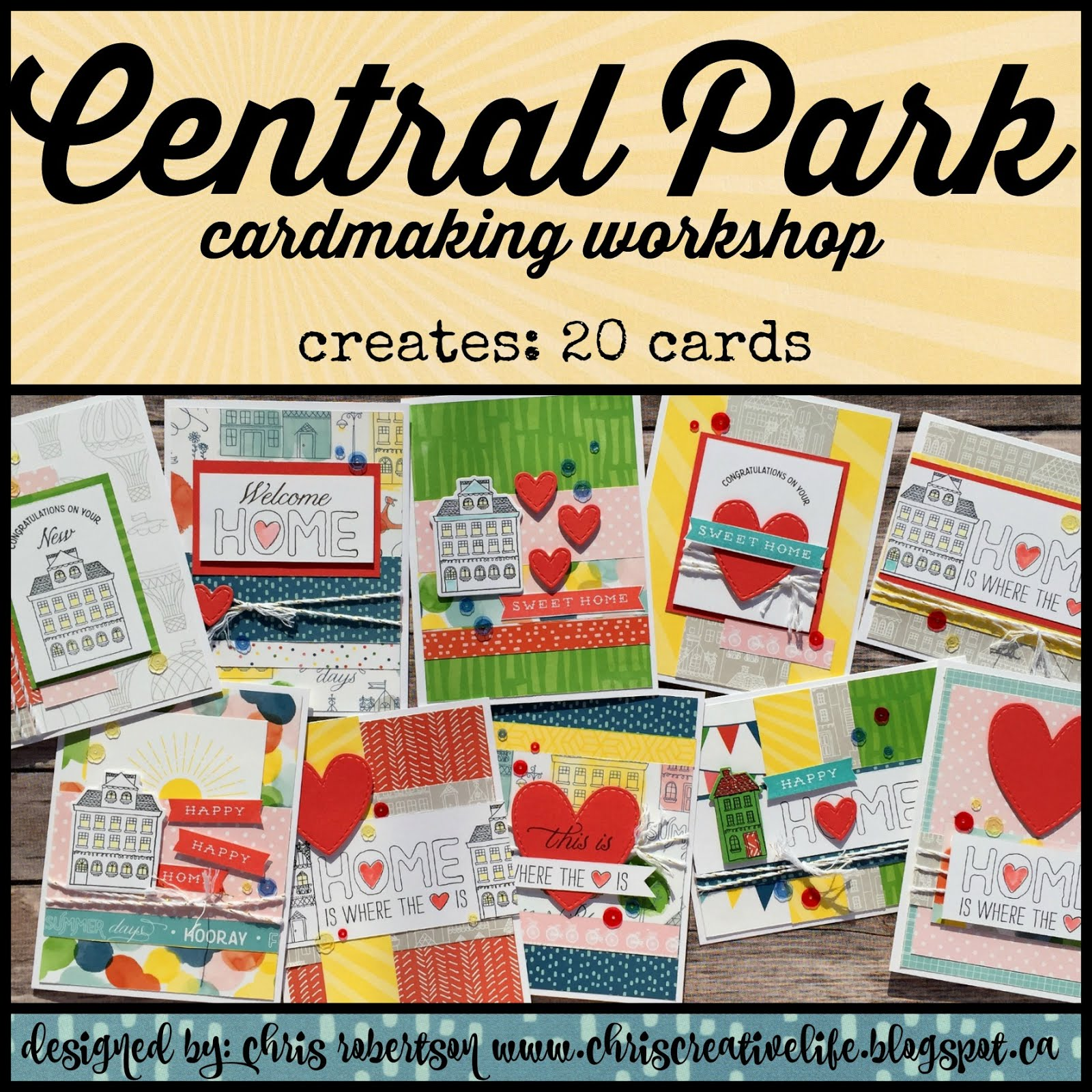 Central Park Cardmaking Workshop