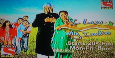 I Love My India on SAB TV