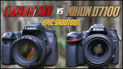 Canon EOS 70D VS Nikon D7100, New Nikon camera, new Canon EOS camera, dual pixels CMOS AF, Full HD video, new DSLR camera, autofocus camera