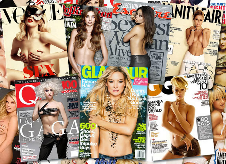 topless cover girls
