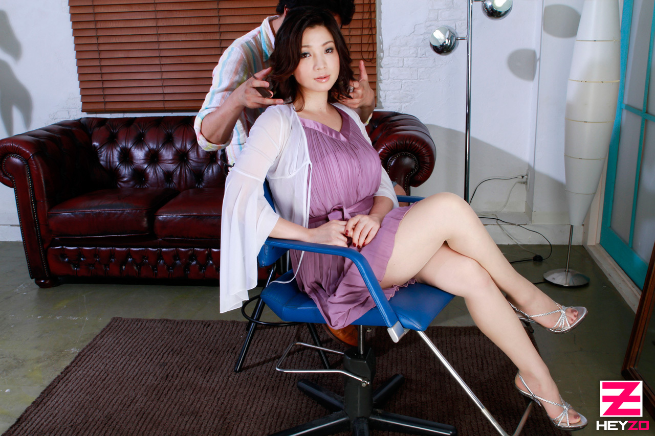 [HD 2.2G] Heyzo 0166 Watch This Milf! Before & After Haircut Model Version   Miki Kanzaki