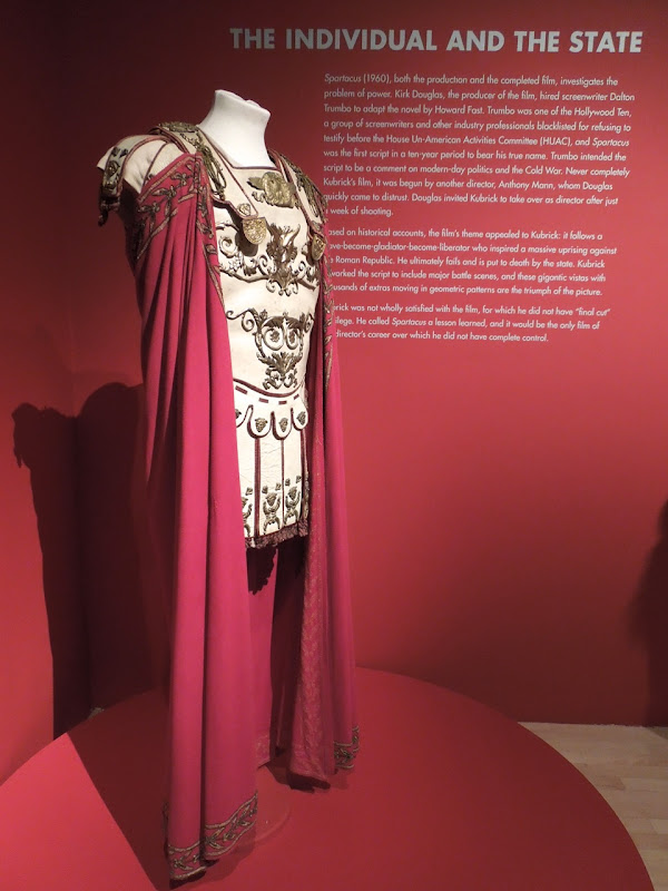 Laurence Olivier Spartacus costume LACMA