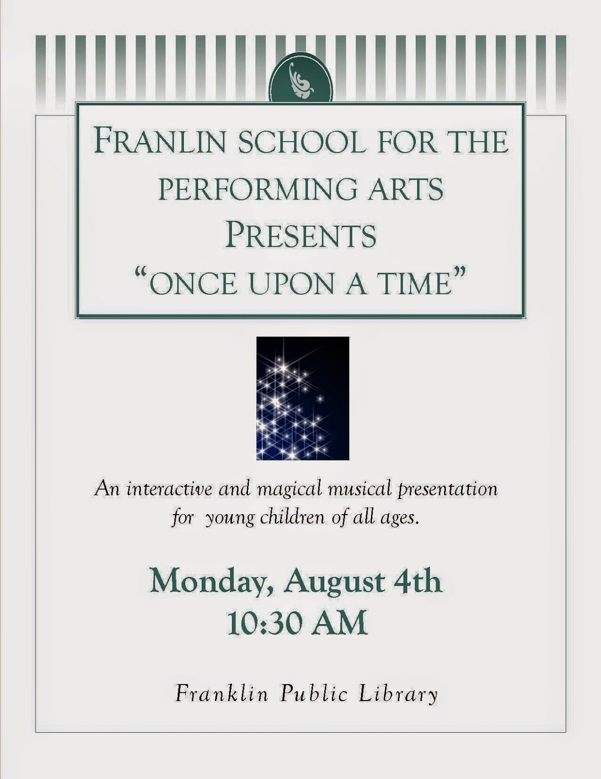 "FSPA presents ""Once Upon a Time"""