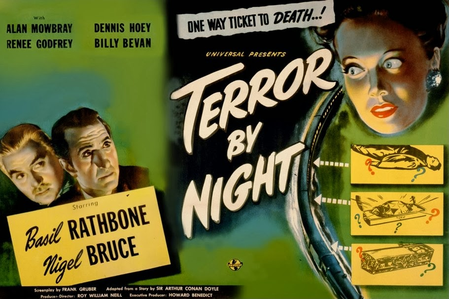 Sherlock Holmes: Terror by Night Movie Poster
