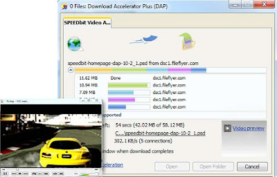 Download Accelerator Plus 10 - Video Preview