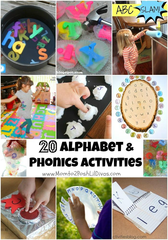 Preschool Phonics Ideas