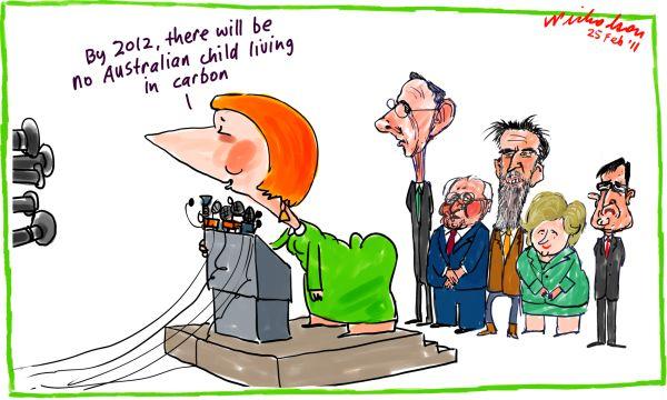 julia gillard cartoon. for Julia Gillard on his