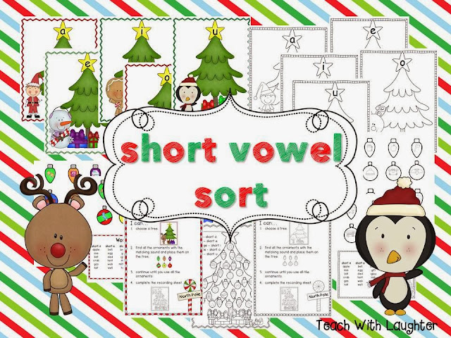 http://www.teacherspayteachers.com/Product/Christmas-Short-Vowel-Sorting-Station-984194