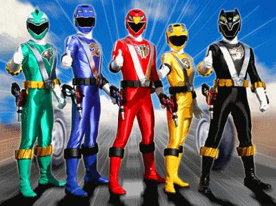 Video Power Rangers Online - Força Mística