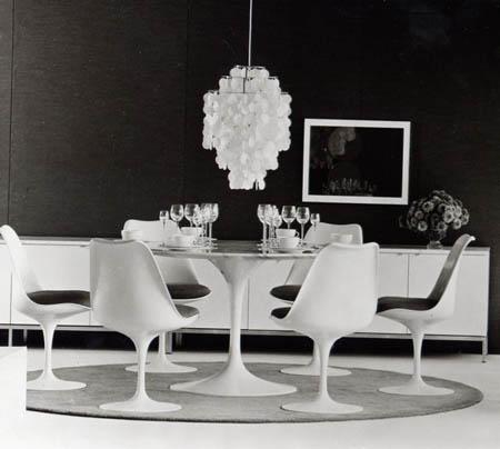 5 sedie senza tempo arredamento facile - Sedia tulip knoll ...