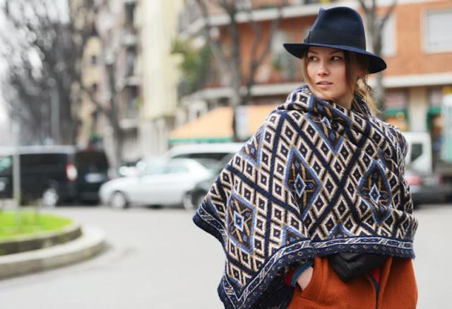 scarf street style