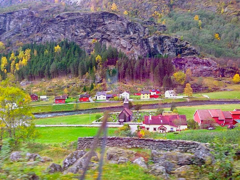 Norwegian towns