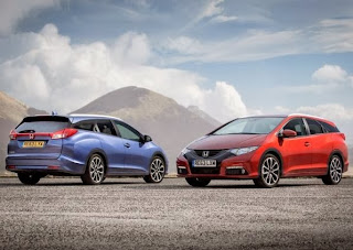 New Honda Civic Tourer 2014 (Video)