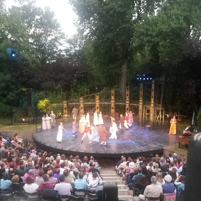 Pride and Prejudice at Regent's Park Open Air Theatre