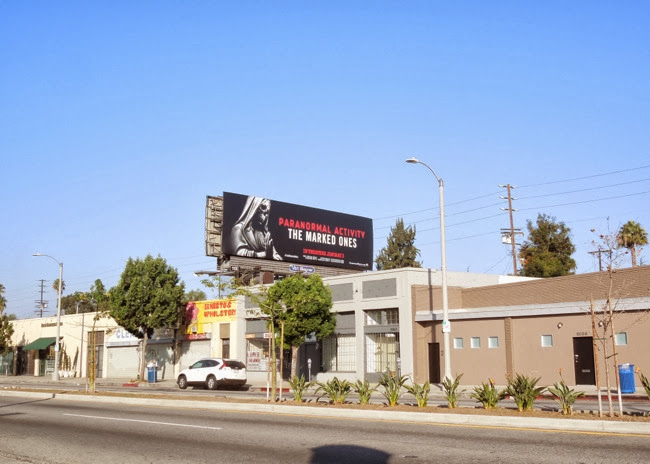 Paranormal Activity Marked Ones billboard