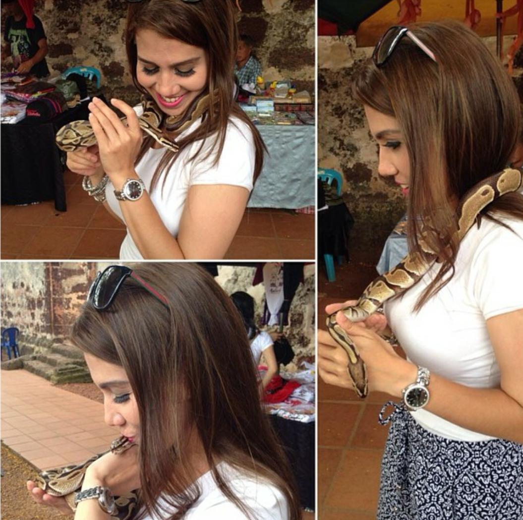 Selfie ini Bukti Anis Nabilah Lagi Hot Dari Farah Quinn, info, terkini, hiburan, sensasi, Anis Nabilah
