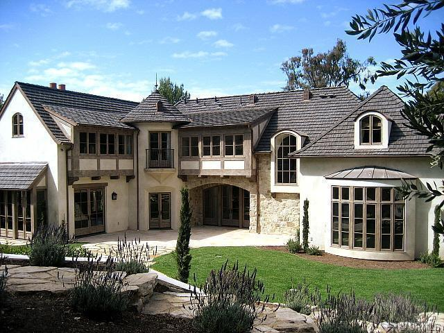 The homes of palos verdes french country in rolling hills French style homes