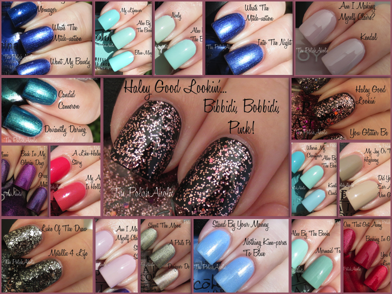 The PolishAholic: Nicole by OPI Modern Family Collection Comparisons
