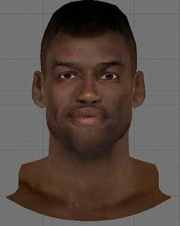 NBA 2K13 David Robinson Cyberface Patch
