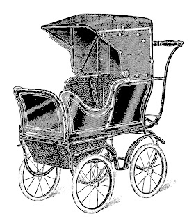 stock baby carriage image