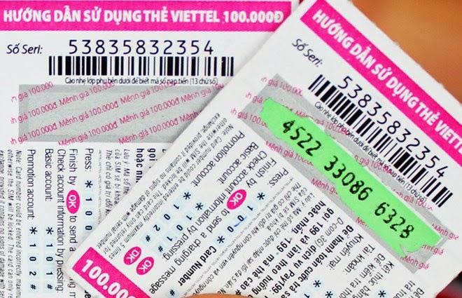 Thẻ điện thoại viettel
