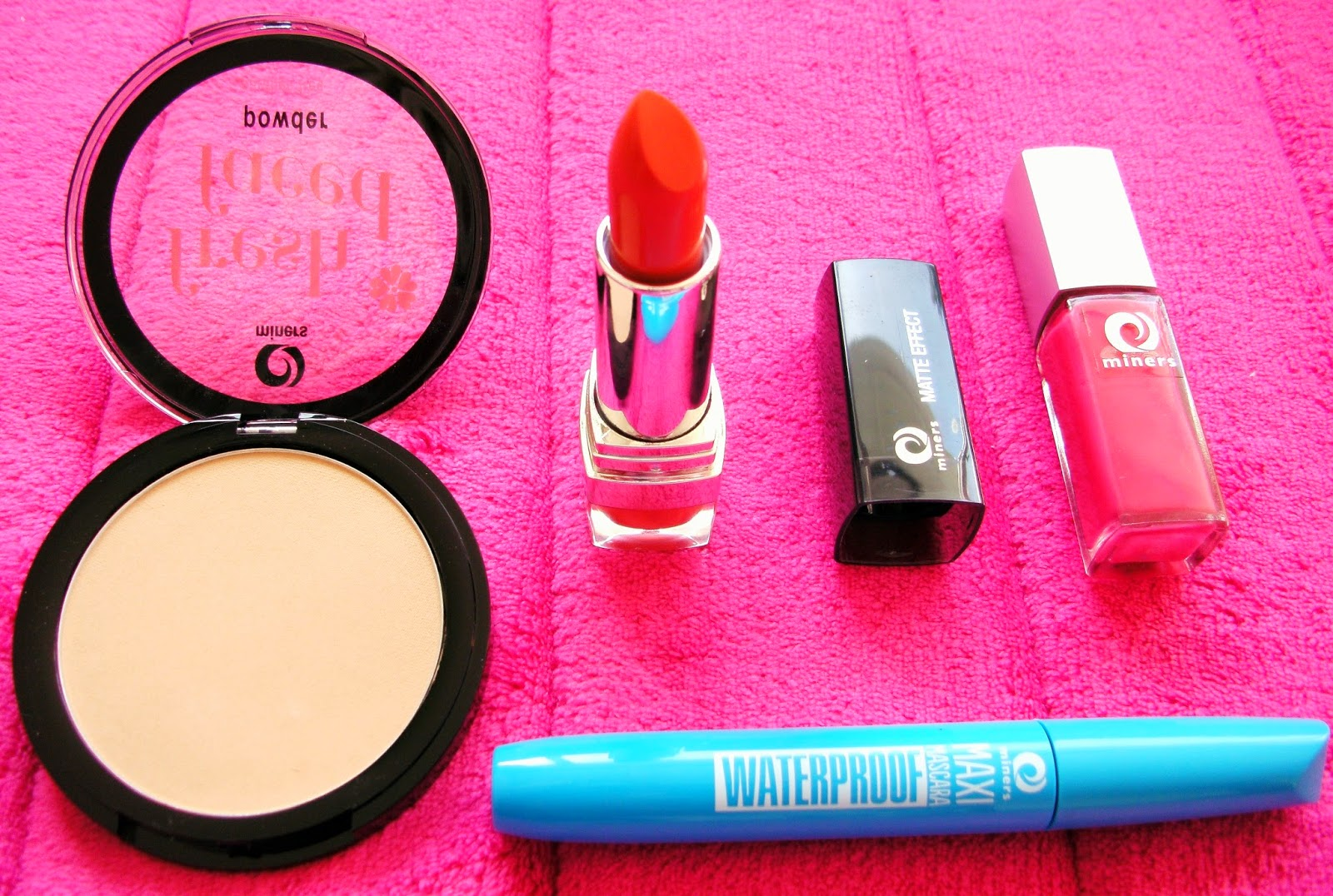 Miners Cosmetics SS14 Trends