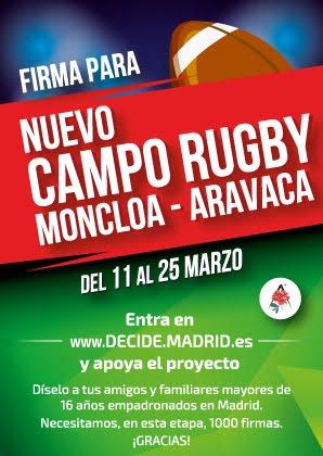 Nuevo Campo de Rugby Moncloa-Aravaca.