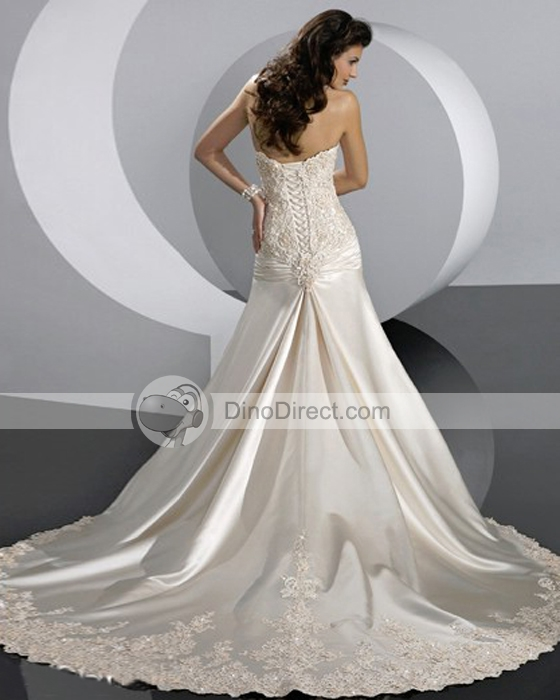 Wedding Dresses With Color In Them 71