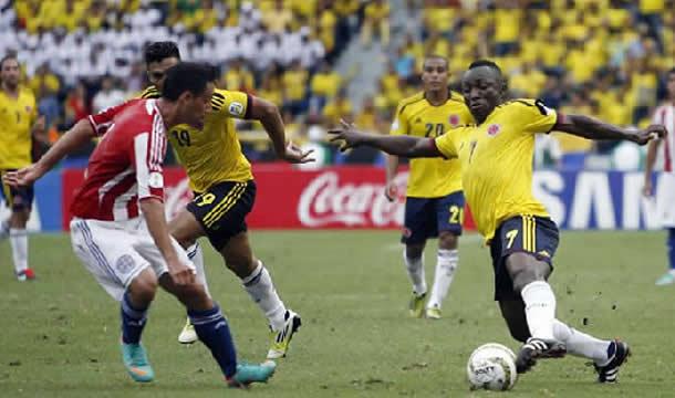 Paraguay vs Colombia vivo