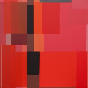 Jesús Matheu Rojo Barroco 2011-13 | Óleo sobre tela | 45,8x45,8 cm. Beatriz Gil Galería