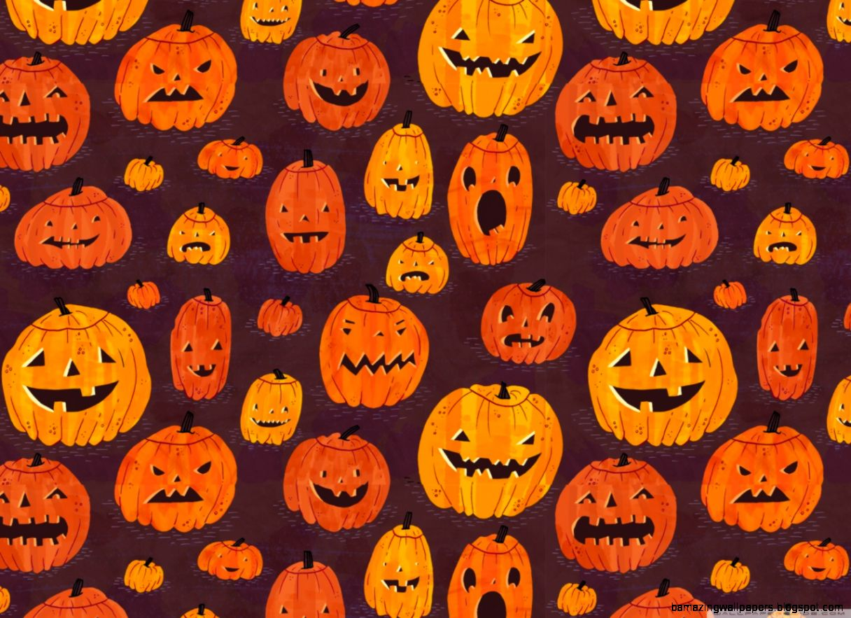 Halloween Pumpkin Desktop Wallpaper | Amazing Wallpapers