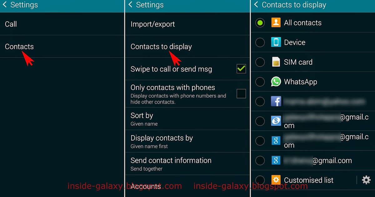 how to add contacts to samsung galaxy s5