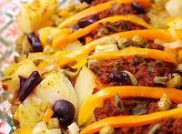 Batatas ao Molho de Tomate (vegana)