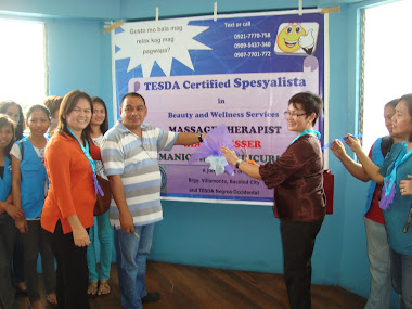 Opening of Beauty and Wellness Services' Contact Center in Brgy. Villamonte, Bacolod City
