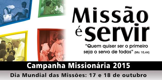 Mês das Missões: tem início a Campanha Missionária 2015
