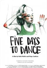 Carátula del DVD Cinco días para bailar