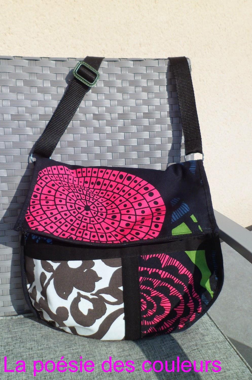 la po sie des couleurs un autre sac avec les chutes de tissus. Black Bedroom Furniture Sets. Home Design Ideas