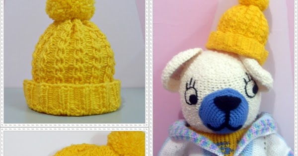 Crochet.is.Fun: Free pattern: cable hat (loom knitting)