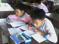 study, study english, belajar, konsentrasi, concentration, menulis, sdii al-abidin