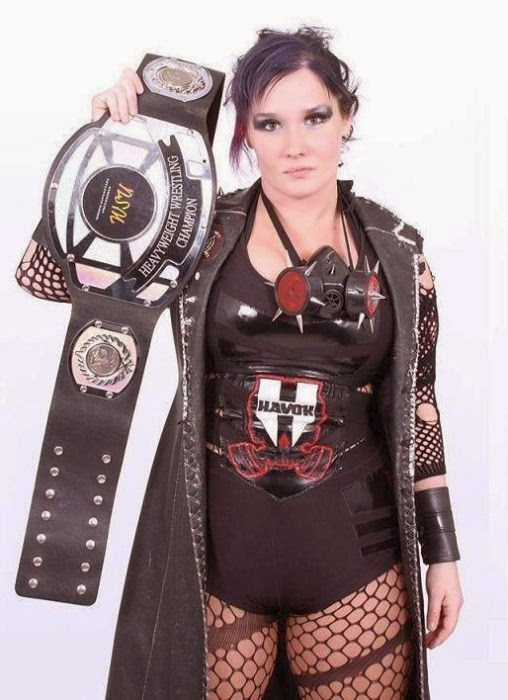 Jessicka Havok, female wrestling, women of wrestling, women wrestling