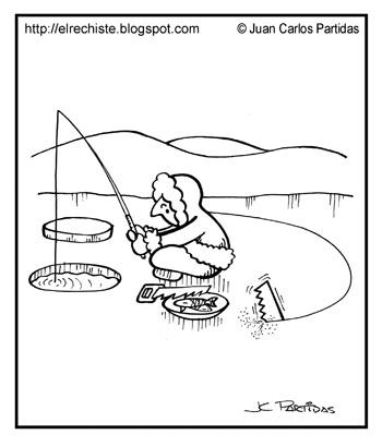 caricatura esquimal