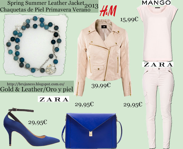 zara, mango, forever 21, h&m, blue, fluor, pink, leather, pu, chain, skirt, blouse, red, two tones, zip, necklace, jade, white, pastel, trousers, heels, boots, ankle boots, mini, falda, botas, botines hebillas, azul, rosa camisa, blusa, pantalón, cazadora, biker, dos tonos, blanco, sobre, envelope, negro, jade, collar, combinar, combine, how to wear, what to wear, cómo llevar, cómo combinar, qué me pongo Sterling silver blue jade necklace. Gil/ Collar de plata esterlina y jade azul. Gil